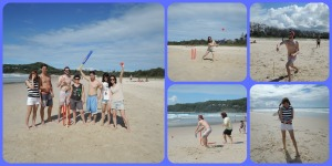 friday beach cricket