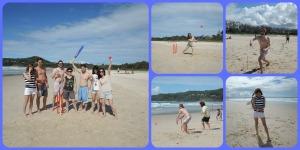 friday beach cricket