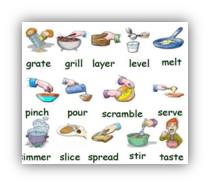 english and cooking