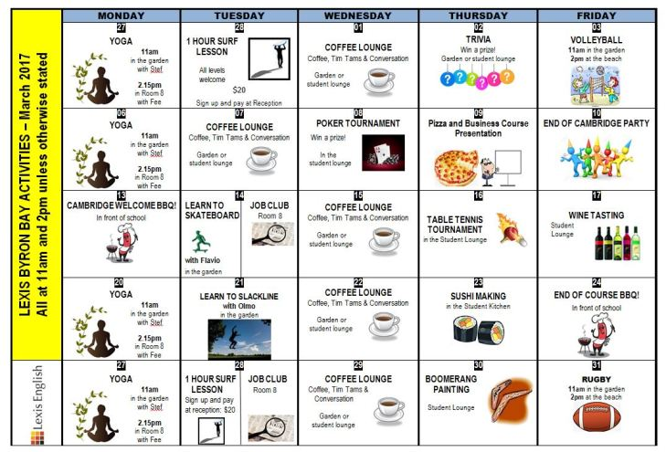 march-calender