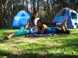Camp with Marillis